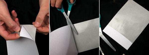 Бумага для этикеток.