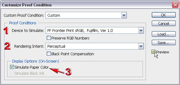 Инструмент Custom Proof Condition