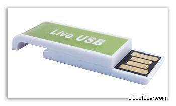 Загрузочная флэшка Live USB.