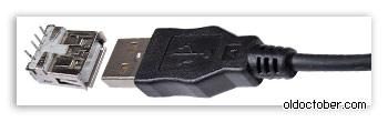 Вилки и гнёзда USB 2.0