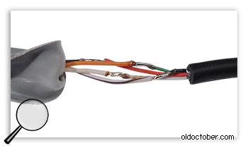 Как соединить два кабеля?