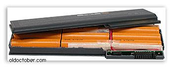 Что внутри аккумуляторной батареи ноутбука?