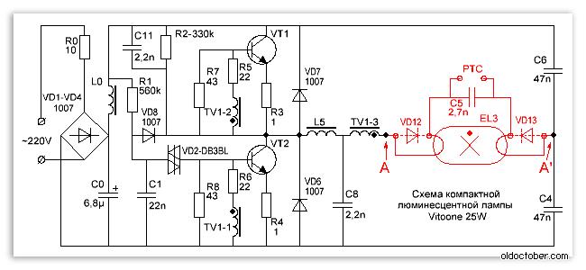 импульсный трансформатор с