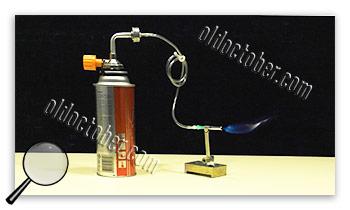 Gas burner assembly.