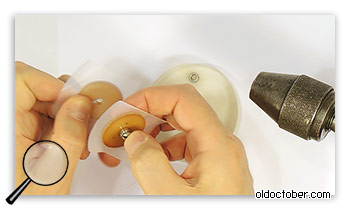 Сборка шаблона для намотки катушки.