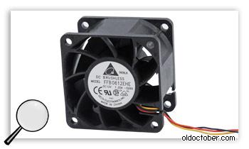 Серверный вентилятор Brushless FFB0612EHE.