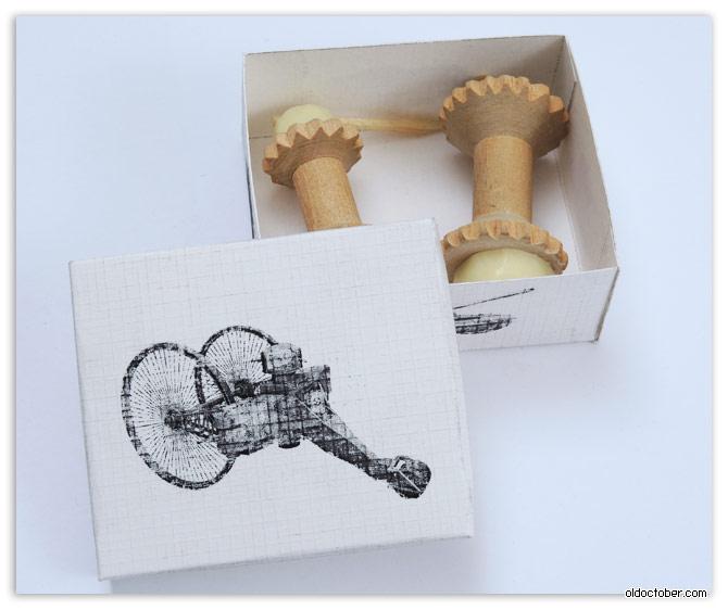 Механические игрушки своими руками.