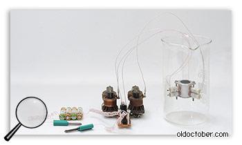 Реактор холодного ядерного синтеза в стакане воды.