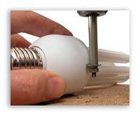 ... энергосберегающей лампы, а также