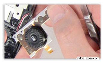 Мембранные контакты кнопок камеры Nikon Coolpix P7700.
