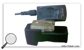 Адаптация зарядного устройства Olympus.
