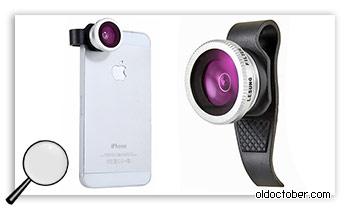 Макро адаптер для мьбильного телефона.