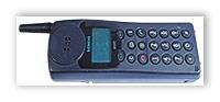 Первый мобильный телефон Siemens.