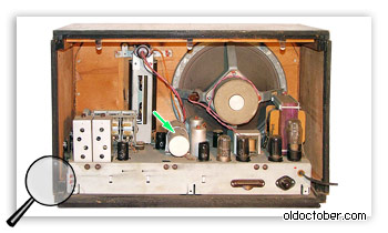 Механический регулятор полосы пропускания.