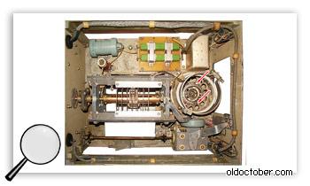 Усилитель мощности радиостанции Р-137.