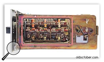 Барабанный переключатель диапазонов тюнера Виктория 003.