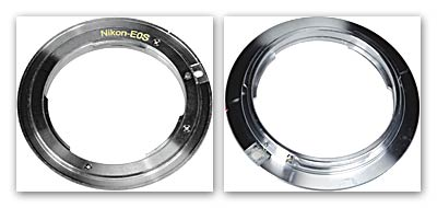 Адаптер Киев Н (Nicon F) > Canon EF/EF-S (EOS).
