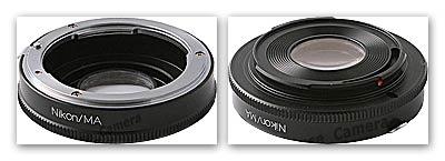 Адаптер Nikon > Sony / Minolta.