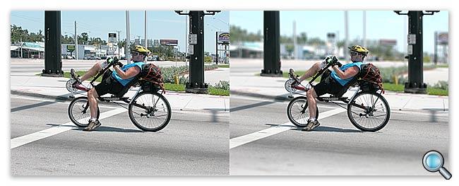 Два изображения – до и после.