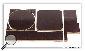 Заготовки из текстолита для оснований механизма позиционирования штанги журавля.