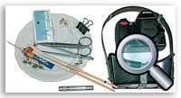 Инструменты и расходники для чистки матрицы