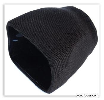 Пластиковый конус, обтянутый тканью. Вид спереди.