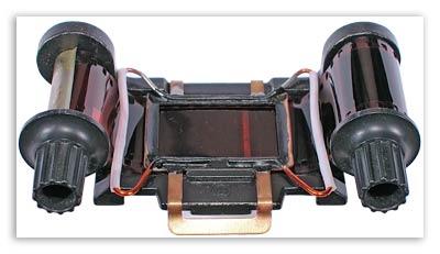 Механизм транспортирования с заряженной плёнкой.