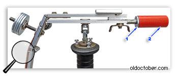 Установка дополнительного груза для балансировки стедикама под лёгкие камеры.