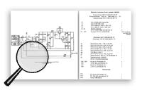 Схема и перечень элементов блока питания «ИОП 409-1» («Фотон-1»).