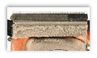 Щели кулера ноутбука, забитые пылью.
