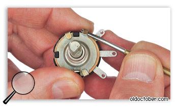 Демонтаж кожухов резисторов СП-1, СП-3.