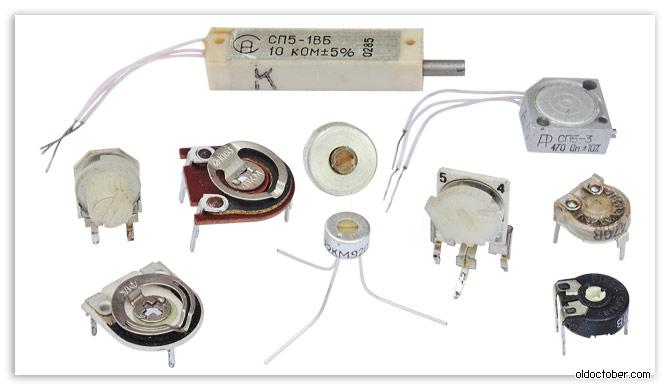 подстроечных резисторов
