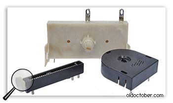 Высоковольтные и специальные подстроечный резисторы.