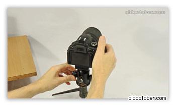 Проверка удобства позиционирования камеры.