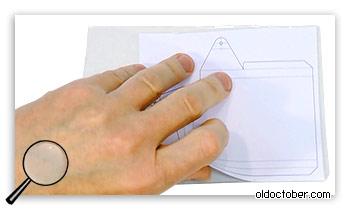 Использование чертежа для разметки заготовки.