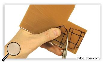 Выркзание заготовок из листового полиуретана.