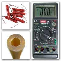 Мультиметр Резисторы Заготовка для щупа.