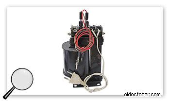 Силовой трансформатор для мелких сварочных работ.