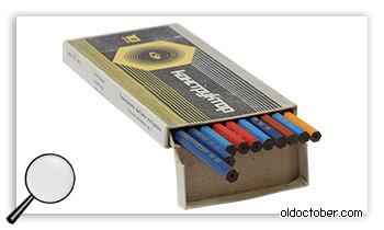 Карандаши «Конструктор» в качестве графитовых электродов.