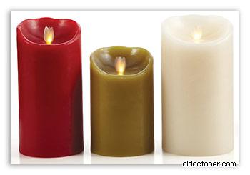 Электромеханическая свеча Luminara candle.