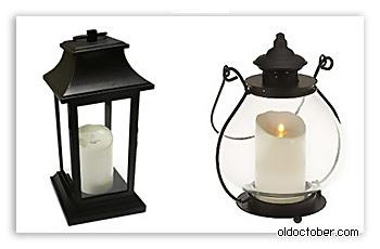Светильники на основе свечей Luminara candle.