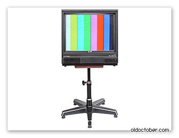 Телевизор «Alfa 51TC-5155D», переделанный под «выпрямленный» кинескоп 54см.