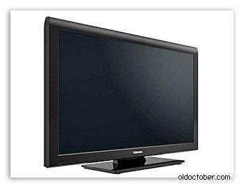LCD телевизор «Toshiba 40LV933G» для самодельного медиа центра.