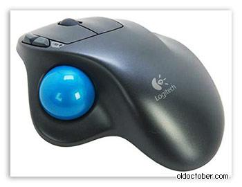 Компьютерная мышь для людей с ограниченными возможностями «Logitech Wireless Trackball M570».