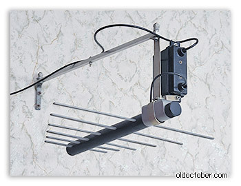 Дециметровая антенна с усилителем «АТН-5,3 Танаис».